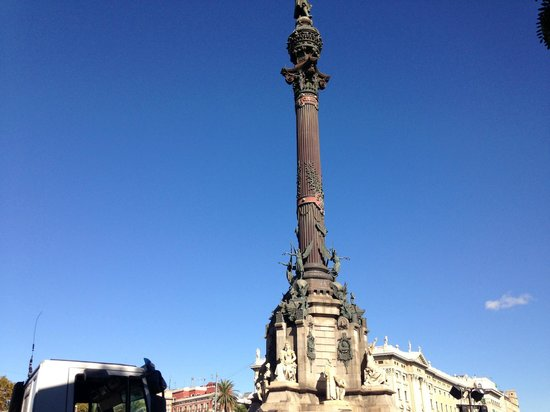 Columbus Monument : Монумент Кристофору Колумбу