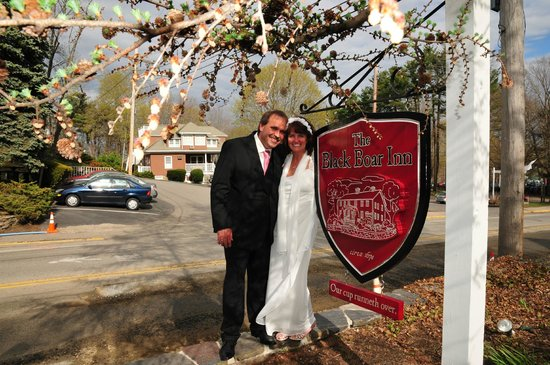 The Black Boar Inn : Our wedding