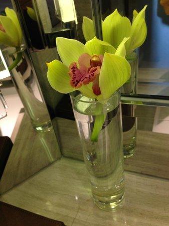 Hilton Sukhumvit Bangkok: Beautiful orchid