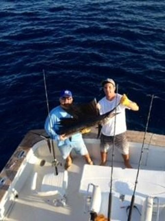 first sailfish picture of bolo sport fishing charters