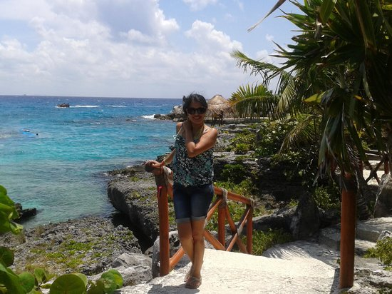 Xcaret Eco Theme Park: vista al mar