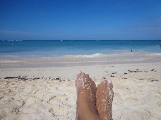 Grand Palladium Bavaro Suites Resort & Spa: Praia maravilhosa, adoreiii..