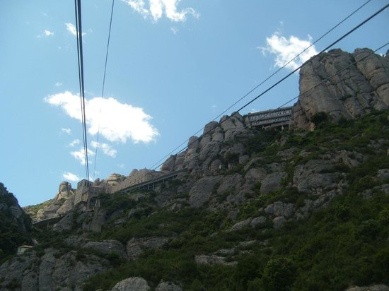 Barcelona Turisme - Afternoon in Montserrat Tour: View from cable car