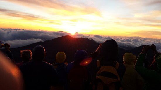 Maui Sunriders: Sunrise at Haleakala National Park