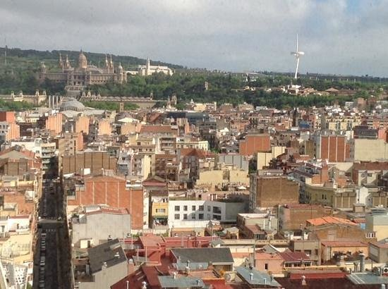 Gran Hotel Torre Catalunya : view from the 17th floor