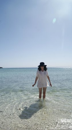 Playa Pichilingue (Pichilingue Beach): Look no waves!