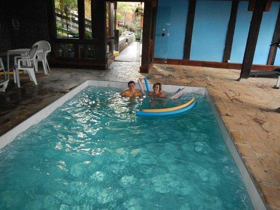 Pousada Teto Doce : piscina térmica