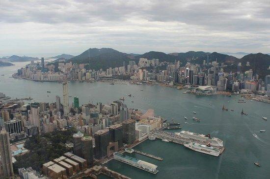 Ozone Bar at The Ritz-Carlton, Hong Kong: View from the window