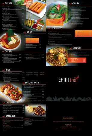 Ashmore, Australia: menu