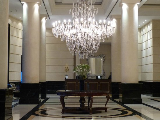 Entrance foyer of the Diplomatic Hotel, Mendoza