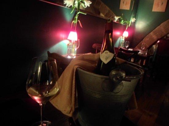 Pla : ótimo vinho.