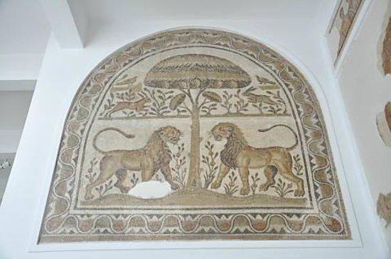 Musée National du Bardo : バルドー博物館 ライオンのモザイク