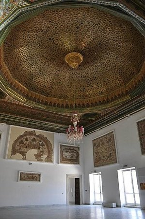Musée National du Bardo : バルドー博物館 イスラムの天井