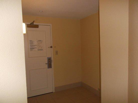 DoubleTree by Hilton Hotel Atlanta Downtown : hallway inside room facing door