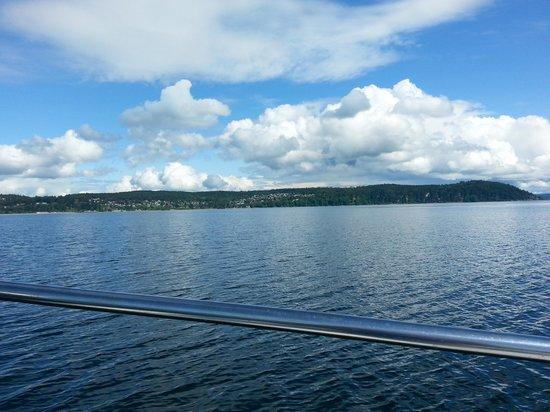 Huber's Inn Port Townsend: Gorgeous sailing