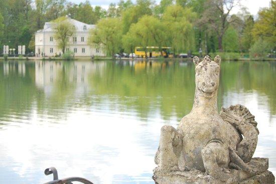 Hotel Schloss Leopoldskron : Lake View