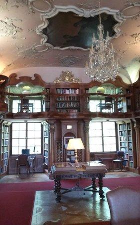 Hotel Schloss Leopoldskron: Library