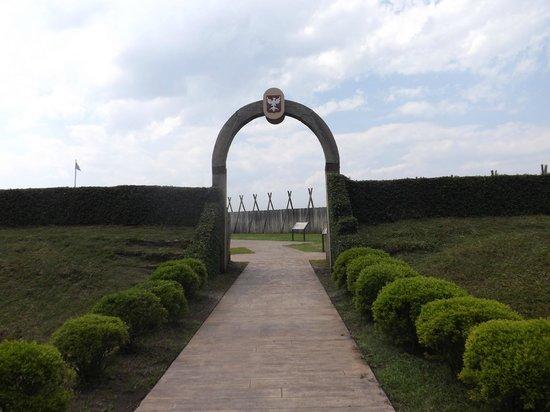 Fort Caroline National Memorial: entrance