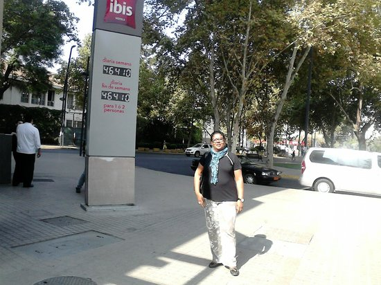 Ibis Santiago Providencia: Férias em Santiago, Chile.