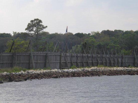 Fort Caroline National Memorial : Fort Caroline
