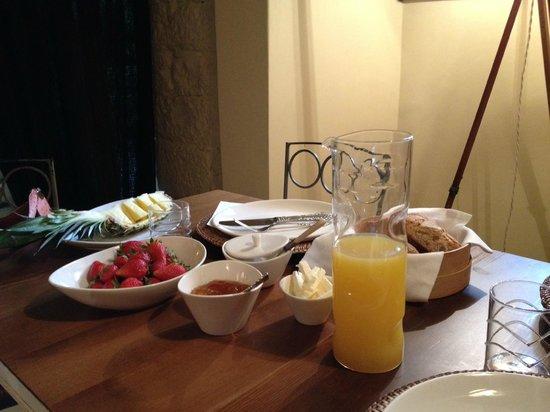 Locanda Il Canovaccio: Included Breakfast