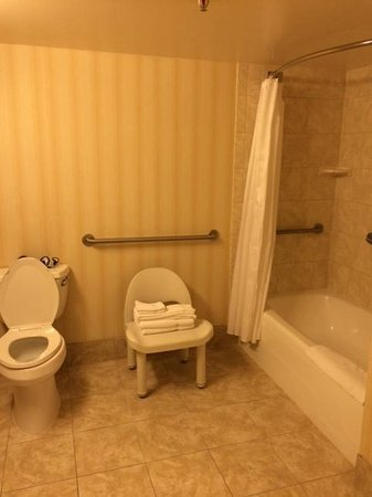 Four Points by Sheraton Richmond Airport: Huge bathroom