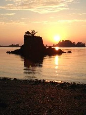 Seldovia Boardwalk Hotel: Seldovia Sunset