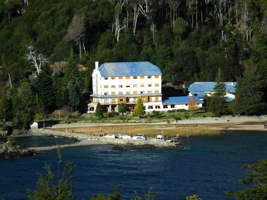 Hotel Alun Nehuen: Desde un mirador cercano