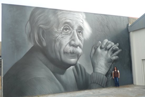 Terry Tours : Albert Einstein Mural