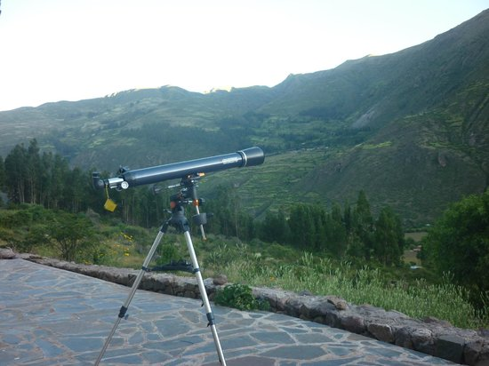 Pumawasi Lodge : Telescopio