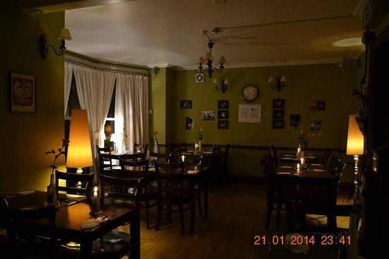 Polonia Club : restaurant room