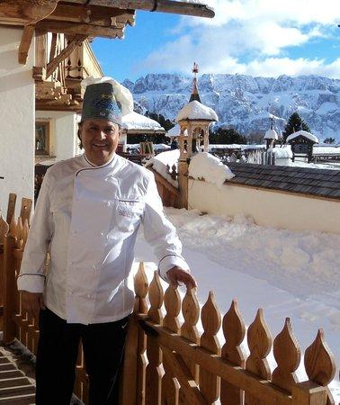 L'Angolo: lo chef Luciano