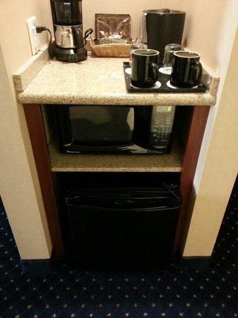 Courtyard Fairfield Napa Valley Area: Mini Fridge, microwave, coffee