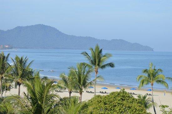 Shangri-La's Rasa Ria Resort & Spa: Our view.
