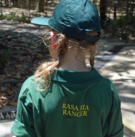 Shangri-La's Rasa Ria Resort & Spa: The kids get a shirt and hat to keep as a memory of teh ranger program!