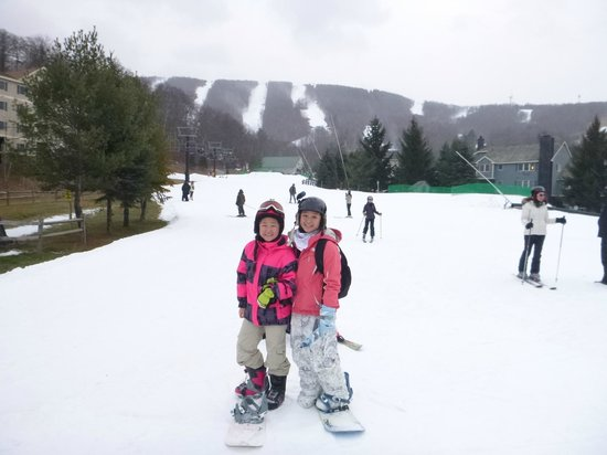 Jiminy Peak Mountain Resort: Main slope