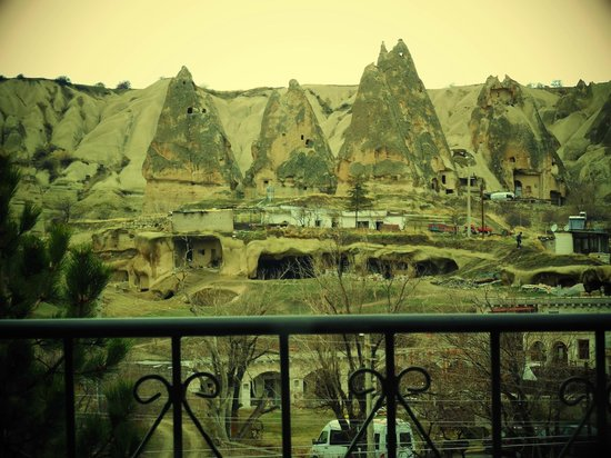 Elif Star Caves: Balcony