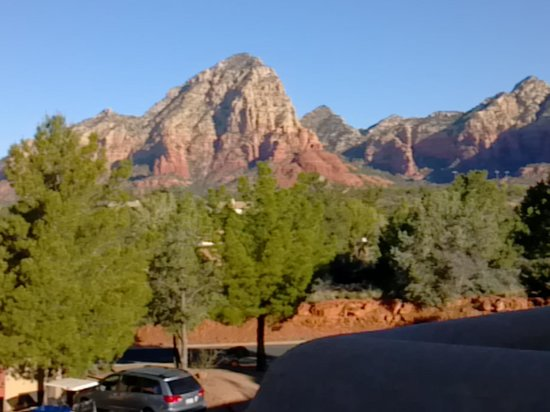 Best Western Plus Inn of Sedona : ホテル敷地からの景観