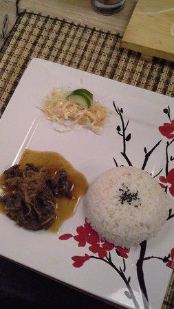 Zushioda Bali: beef teriyaki
