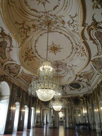 Palais National de Queluz : Ballroom