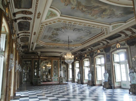 Palais National de Queluz : Throne room