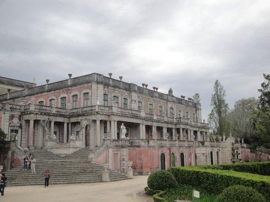 Palais National de Queluz : Back of main palace