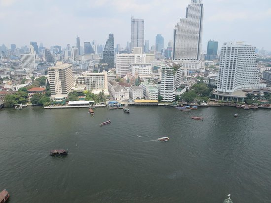The Peninsula Bangkok: Great view from room