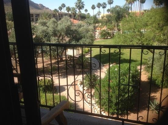 El Conquistador Tucson, a Hilton Resort: view to the pool