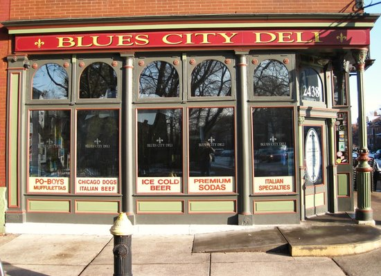Blues City Deli Front Window And Door Picture Of Blues City