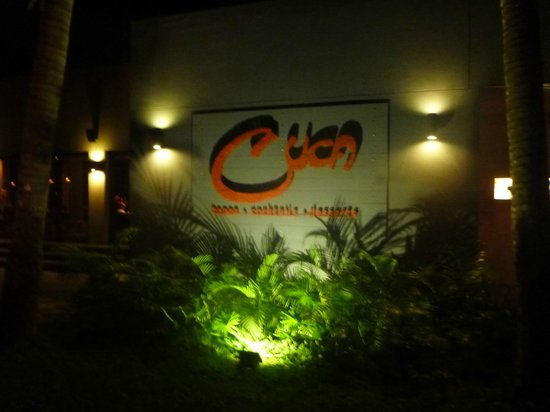 Cuca: Out for dinner