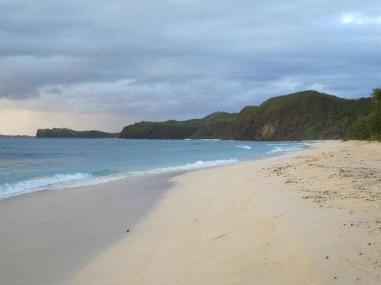 Yasawa Island Resort and Spa: Incredible beaches right at the resort.