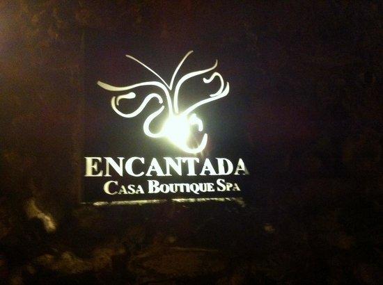 Hotel Casa Encantada: Entree