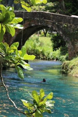 Sandals Ochi Beach Resort: Spanish Bridge visit