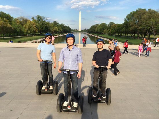 Private DC Segway Tours: Cruising D.C. in comfort